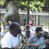 New Orleans Jackson Square Tuba Player