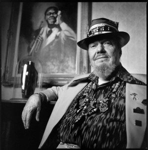 Dr. John photographed at the Louis Armstrong House in Queens, NY